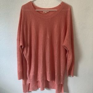 eileen fisher tunic sweater top size M